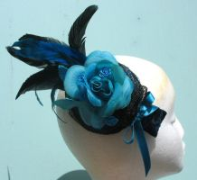 'Bluescope' Fascinator by MizzerieDebauch