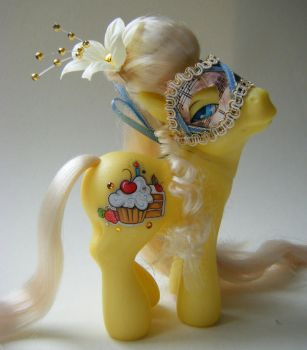 OOAK My Little Pony Marie by eponyart