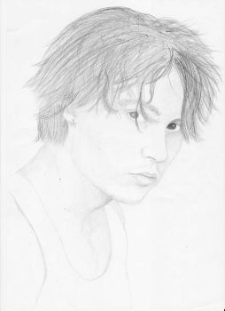 Johnny Depp by violet-evellyn
