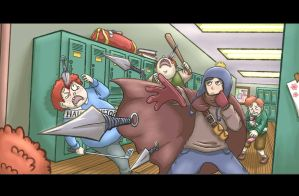 SP: School Warfare by Plumlinderdog