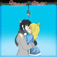 .:Mistletoe Meme with Gray Prince:. by AsktheGirls