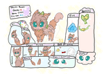 (New Species) Pawbells Reference Sheet [Updated!] by SunstarXD