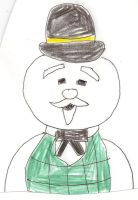 Sam the Snowman by dth1971
