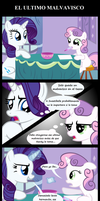 Rarity y el ultimo Malvavisco by mercenario1945