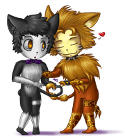 Commission : Toxic-dolls by Kattling