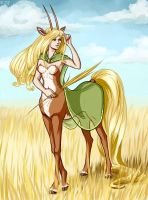 Centaur Antelope by NightCatty