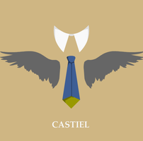 Castiel's line: Step 2. (animated) by ThetarielWhitesinger