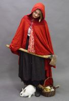 Red Riding Hood stock 3 by InKi-Stock