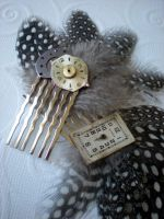 Steampunk Fascinators by rowan300