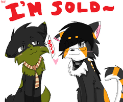 :.I'm Sold.: +Ashley x Kyo+ by tobiokageyama