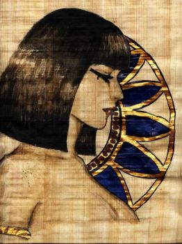Somewhat Egyptian by lyrakristine