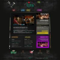 Website cafe restaurant by D72