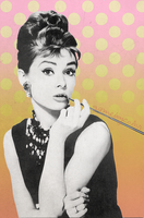 Audrey Hepburn by gameboycolor
