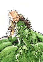 Hulk and Richi by MarcelPerez