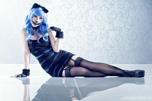 Human Cheshire cat by xwickedgames