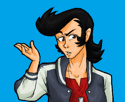 Space Dandy by PrettyPumpkinhead