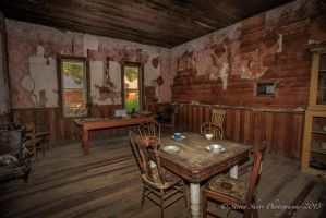 Garnet Ghost Town Hotel Dining Room by Mac-Wiz