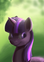 Digi Painting - Twilight by Indivicolours