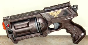 WH40k: Bolt Revolver by BloodCri