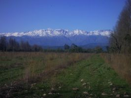 Snowy Andes by RivenRoth740
