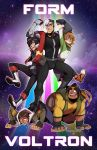 FORM VOLTRON by zillabean