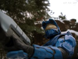 Cold hunter - Halo by SurfTiki