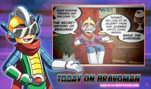 Bravoman: Bravo the Barbarian Guest Strip 1 by dyemooch