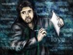 Words can be a weapon (Alan Wake) by SeaCat2401