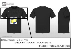 Halo inspired T-shirt by NathanRussell