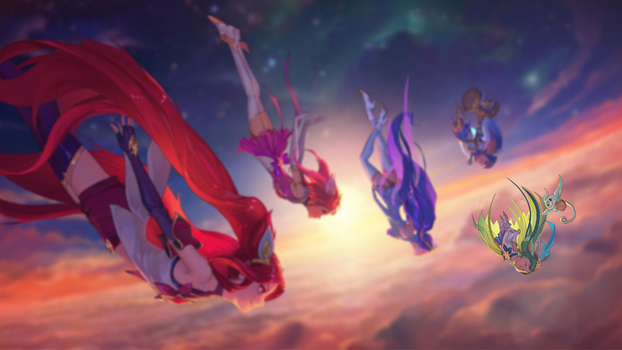 Star Guardian (Lulu Focus) by W0LVEMAN