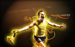 Andres Iniesta by DigiQ8