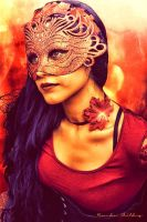 Lady of Autumn by Art-Has-Soul