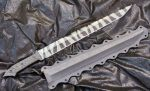 Abaddon Single hand prototype by GageCustomKnives