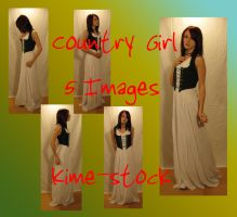 Renaissance Country Girl by kime-stock