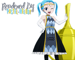 [Fairy Tail] Eclipse Aquarius Render by pastel-melody