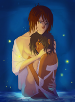 Cold and Fireflies: You Keep Me Close. by Kenyora22