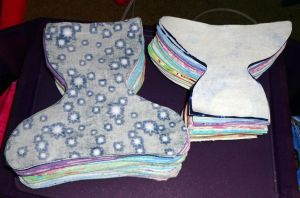 pile diapers cut by wiccanwitchiepoo