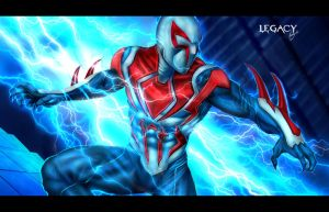 Spider Man2099 all new all different by Legacy666legacy
