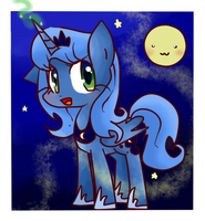Princess Luna by ameliayap