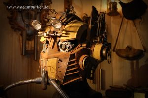 Steampunk Transformer Helmet by steamworker