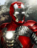 Iron Man Mark V by Sin-Vraal