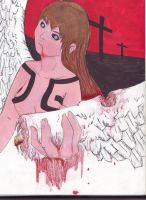 Fallen angel by Nghtmaresindrome
