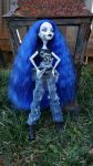 Wendy Geau Custom Monster High Doll by Oceanblue-Art