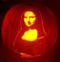 Mona Lisa by pumpkinsbylisa