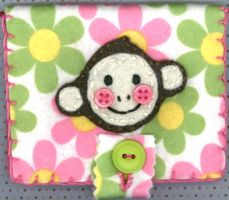 Little Monkey Card Holder by RyuuseiHime