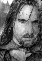 Aragorn son of Arathorn by worthgold