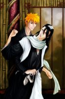 commission: bleach couple by zelas