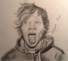 Ed Sheeran 30 min drawing by MelieseReidMusic