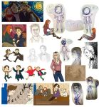 BIG DOCTOR WHO DOODLE DUMP by auzzeh