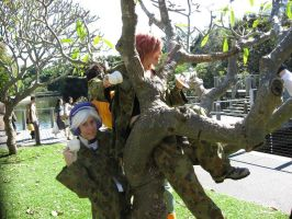 Tea Party in a Tree by kalely